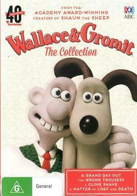 Wallace And & Gromit - The Collection DVD R4 Brand New!