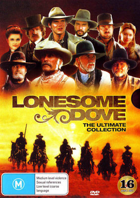 Lonesome Dove The Ultimate Collection (16 Disc Set) DVD R4 New!!!