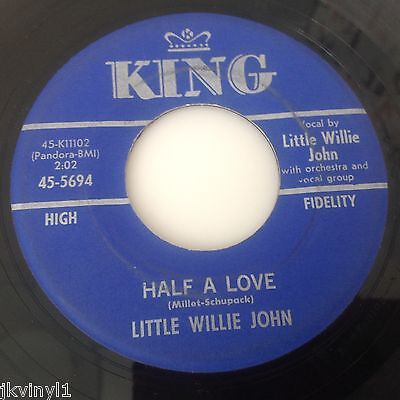 Little Willie John-Half A Love/without A Friend-King 5694. Vg