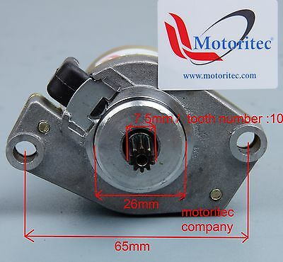 replacement starter motor for Yamaha Beewee 50 YW50 JOG 50