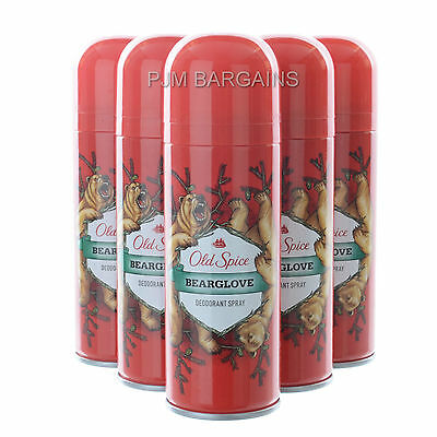 Old Spice Bearglove Deodorant Body Spray 150Ml Can 6 Pack
