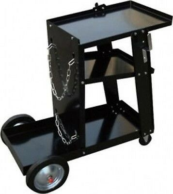 Mobile Metal Welder Cart Tank Stand Dolly for Tig Mig Arc Welding Machine