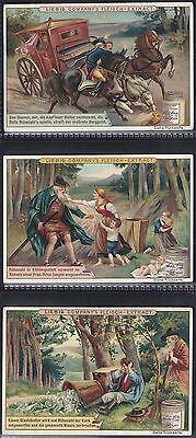 Liebig-*s0572*-Full Set Of 6 Cards- German - Rubezahl (Fable)
