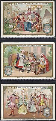 Liebig-*s0573*-Full Set Of 6 Cards- Belgium - History Of France Iv