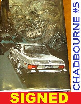 FREE SHIPPING! STEPHEN KING New Cover Series 5 MR MERCEDES Artist Signed 1 /500