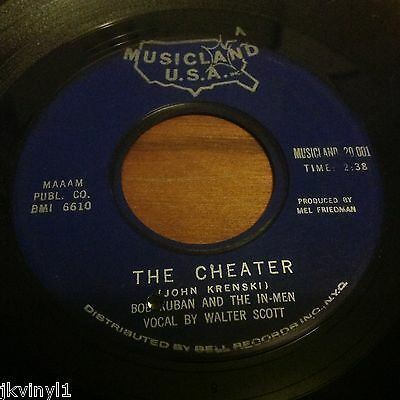 Bob Kuban And The In Men-The Cheater-Musicland Usa. Vg+