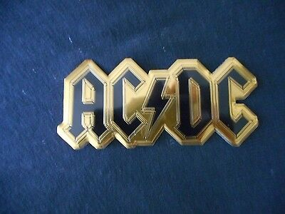 Ac/dc Band Logo - Metal Sticker