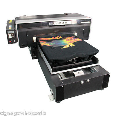 """11.7""""x16.5"""" A3 Size Calca DFP2000 T-shirt Flatbed Printer with Rip Software"""
