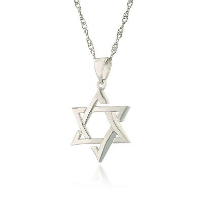 925 sterling silver star of david necklace