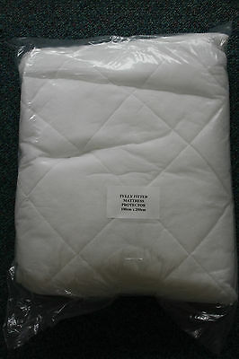 Quilted Mattress Protector! 100x200! ODD SIZE ! single size protector