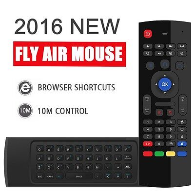 MX3 2.4GHz Wireless keyboard Fly Air Mouse Remote For Smart TV BOX Mini PC XBMC