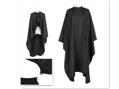 Pro Black Adult Salon Hair Cutting Hairdressing Barbers Cape Gown Hairdresser