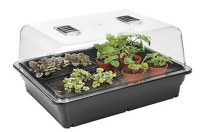 Electric Plant Propagator Seed Heated Thermostatic Control Tray Incubator Pots