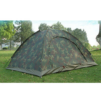 Outdoor Camping Waterproof 2person 4 season folding tent Camouflage Hiking