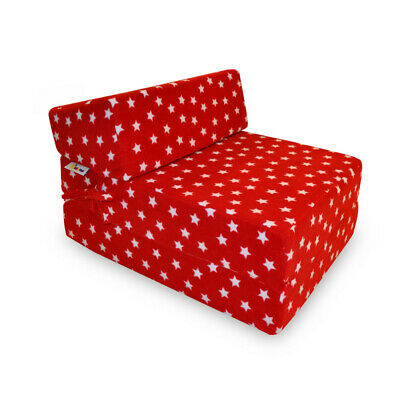 Implay Memory Foam Fold-Out Z Bed - Guest Bed / Chair Ideal for Sleep-Overs