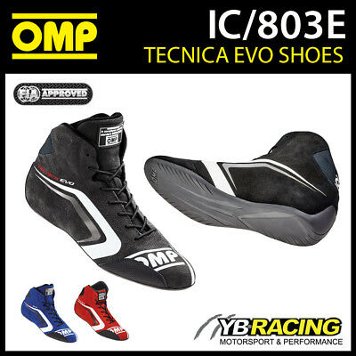 Ic/803E Omp Tecnica Evo Race Rally Boots Ultralight Fireproof Fia