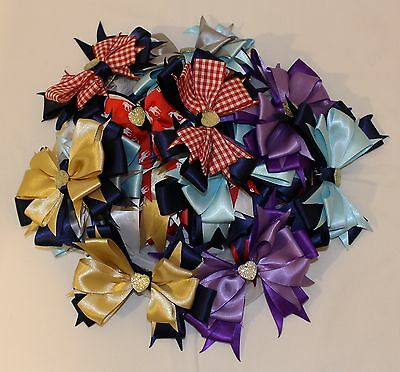 Handmade Childrens Show Bows & Hair Ribbons
