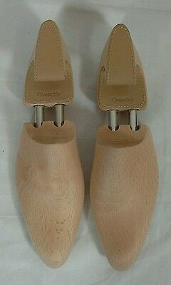 Church's Solid Wood And Leather Spring Loaded Shoe Stretchers - UK 8 - New