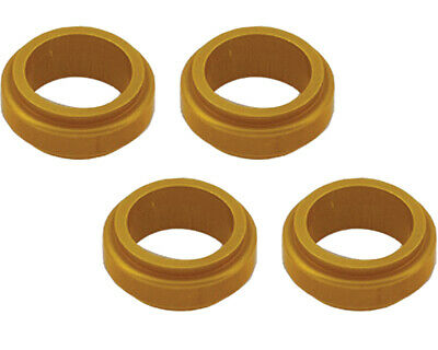 Wheel Spacer Gold 17mm x 10mm Prokart Cadet x 4 Go Kart Karting Race Racing