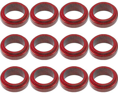 Wheel Spacer Red 17mm x 10mm Prokart Cadet x 12 UK KART STORE