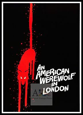 An American Werewolf In London   Horror Movie Posters Classic & Vintage Films