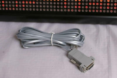 Pro-Lite Message Display Programming Cable LED Sign 25'