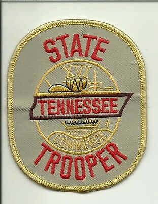 TENNESSEE STATE TROOPER  POLICE patch