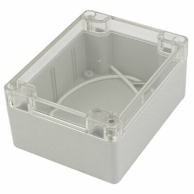 115mmx90mmx55mm Plastic Clear Cover Dustproof IP65 Enclosure Case Junction Box