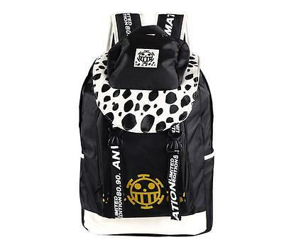 Neu ONE PIECE Trafalgar Law Anime Manga Rucksack Tasche Back Bag 45x34x17CM A9