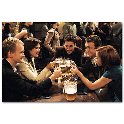 How I Met Your Mother TV Actor Wall 13x20 24x36 Poster 001