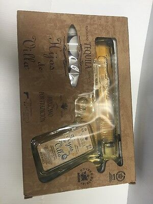 Tequila pistol ( hand gun ) with 2 shot glasses