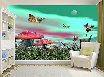 3D  Meadow Wall Mural Photo Wallpaper GIANT DECOR Paper Poster Free Paste