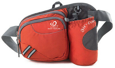 Cycling Waist Bag Running Fanny Pack With Water Bottle Holder Pouch Climbing Bag