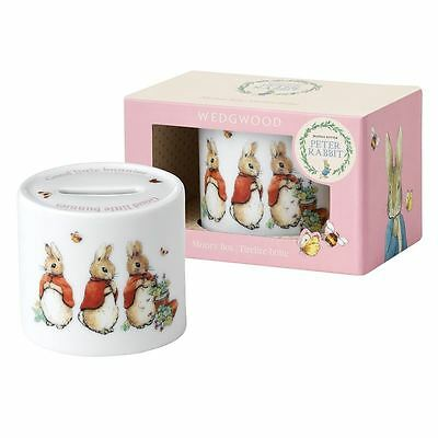 Wedgwood - Peter Rabbit Oval Money Box Pink