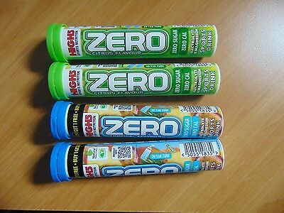 HIGH5 Zero 4 tubes = 2 Tubes Citrus  2 tubes Tropical Hydration Drink Tablets