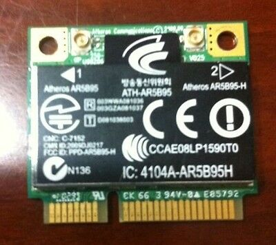 Atheros AR5B95 Wireless  Half-Mini PCI-E WIFI WLAN Card  605560-005