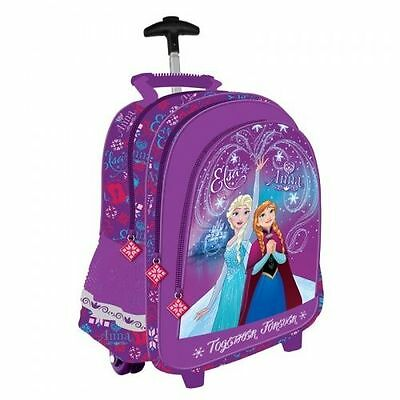disney frozen eisk nigin trolley schulranzen schulrucksack. Black Bedroom Furniture Sets. Home Design Ideas