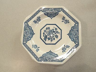 4 J&G MEAKIN STAFFORDSHIRE English Ironstone OLD PEKIN Blue White DINNER PLATES