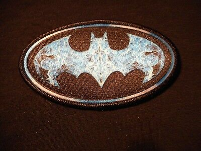 BATMAN LOGO Embroidered Iron-on Patch