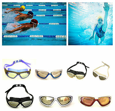 ANTI-FOG Swimming Diving Goggles Glasses UV Protection Eyewear KIDS / ADULTS