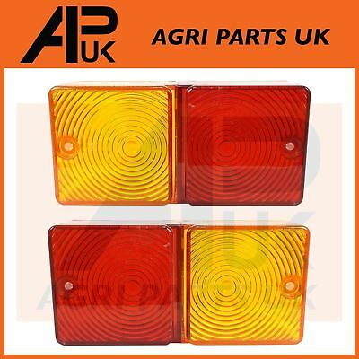 Ford Tractor Rear Light Lenses 2600,3600,4110,4600,5610,6610,7610 New Holland