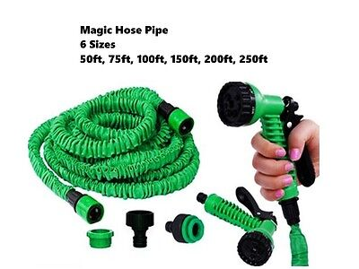 Hose Pipe Magic 6 Sizes Expanding Garden Car Wash Cleaning Spray Watering Plant