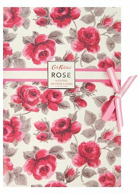Cath Kidston Rose Scented Drawer Liners Draw Paper Kitchen Cabinet Cupboard Sach