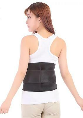 Backache Back Support Belt Neoprene Lumbar Waist Brace Adjustable Pain Relief