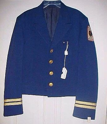 Greyhound Buss Drivers Jacket 1964 Ny World's Fair Un Issued Charles Rand Penney