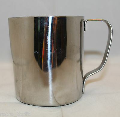 "Breville Cafe Roma Coffee Stainless Steel Creamer Pitcher Jug 9.0 cm 3.5"" Tall"