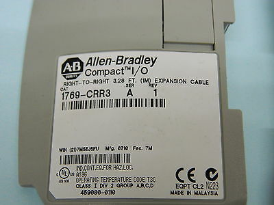 Allen Bradley 1769-CRR3 Right To Right Expansion Cable 1m Long