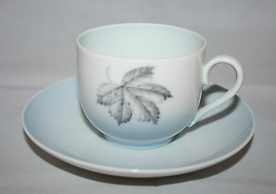 Bing and Grondahl Falling Leaves Coffee Tea Cup with Saucer Made in Denmark 102