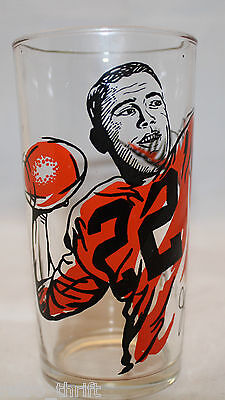 Vintage Joe Kapp 22 CFL Football BC Lions Peanut Butter Glass libbey Collectible