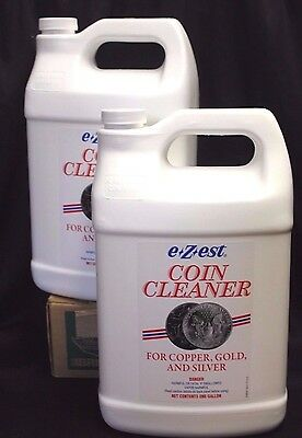 EZEST ✯ Coin Cleaner 2 GALLON Silver Gold Copper Bullion Jewelry E-Z-EST ✯ BULK